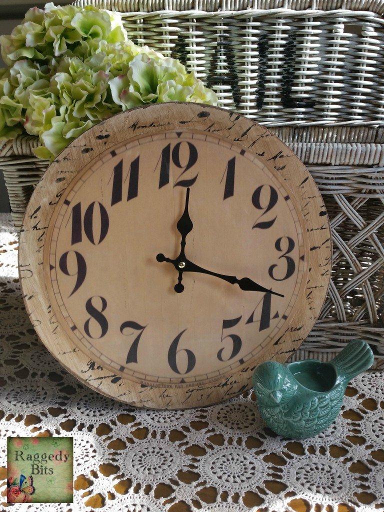 Vintage Clock Save | www.raggedy-bits.com