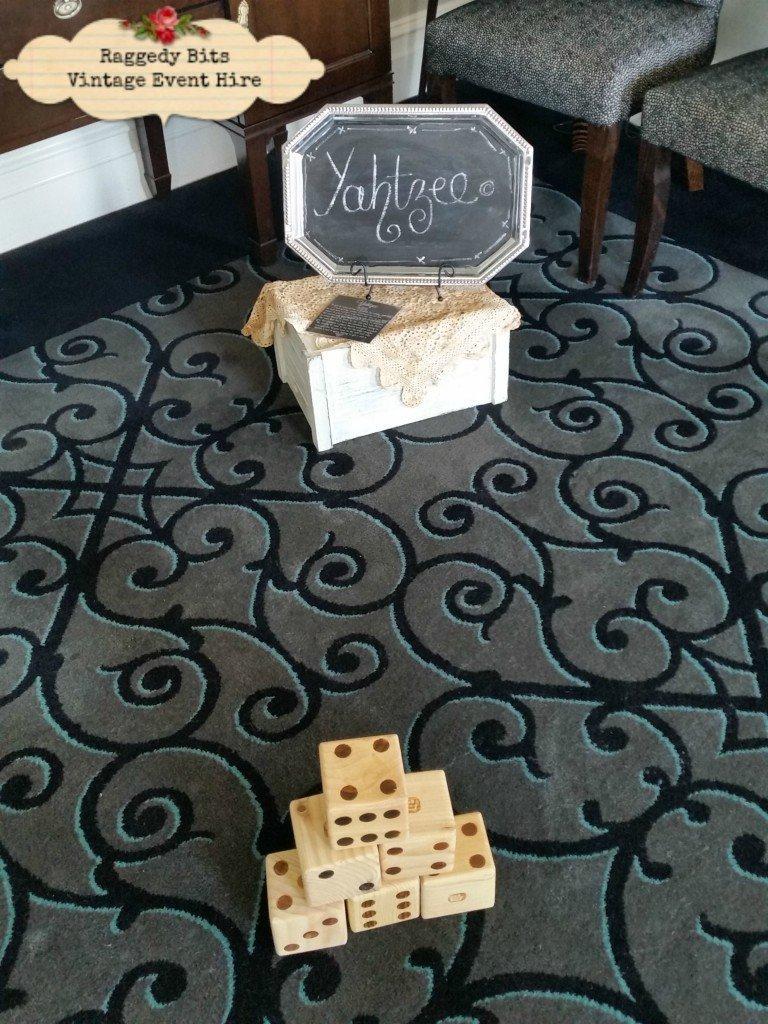 Vintage Hire Games | Yahtzee |www.raggedybits.com